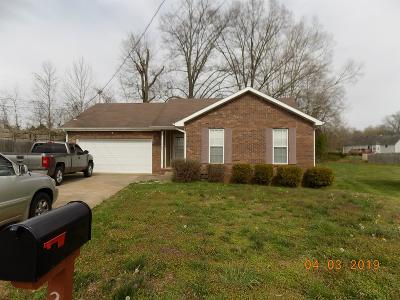 Clarksville Rental For Rent: 223 Lady Alice Court