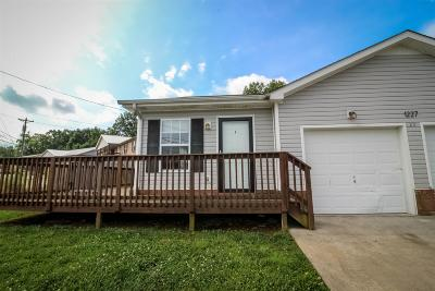 Clarksville Rental For Rent: 1227A Parkway Place