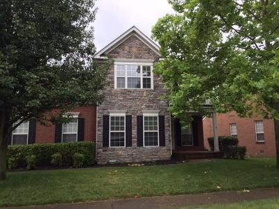 Franklin Rental For Rent: 412 William Wallace Drive