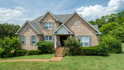 Franklin Single Family Home For Sale: 1606 Callie Way Dr