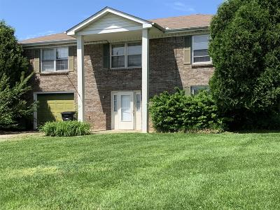 Clarksville Single Family Home For Sale: 3312 Carrie