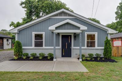 East Nashville Single Family Home For Sale: 1509 Andy St