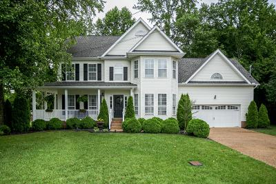 White House Single Family Home For Sale: 105 Hunterwood Ct