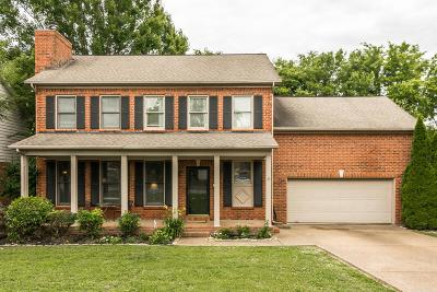 Franklin Single Family Home Active Under Contract: 1131 Buckingham Cir