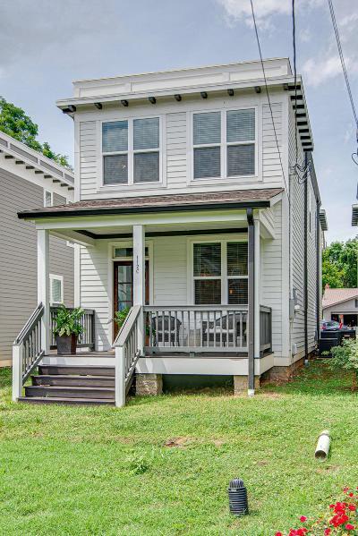 East Nashville Single Family Home For Sale: 112C Rosebank