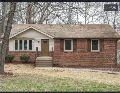 Nashville Single Family Home For Sale: 2433 Rychen Dr