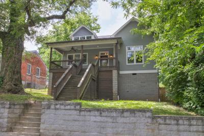 Nashville Single Family Home Active Under Contract: 618 S 12th Street