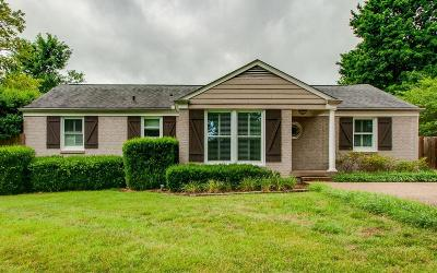 Nashville Single Family Home Active Under Contract: 101 Haverford Dr