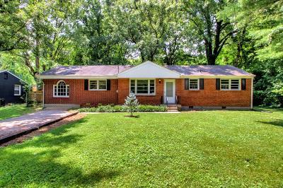 Nashville Single Family Home For Sale: 63 Whitsett Rd