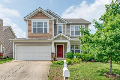 Mount Juliet Single Family Home For Sale: 2133 Erin Ln