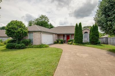 Spring Hill Single Family Home For Sale: 2305 Lance Ln