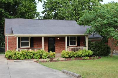 East Nashville Single Family Home For Sale: 2406 Milton Dr
