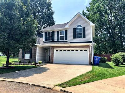 Robertson County Single Family Home For Sale: 208 Dorchester Dr