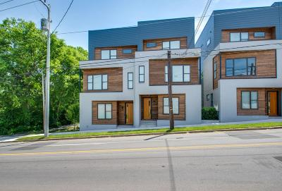 Nashville Condo/Townhouse For Sale: 532 28th Ave N