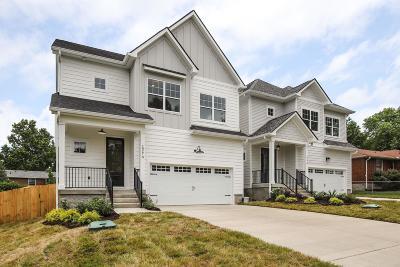 East Nashville Single Family Home For Sale: 1927A Berkshire Dr