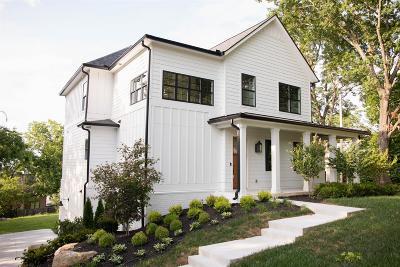 Nashville Single Family Home For Sale: 3722 Nevada Ave