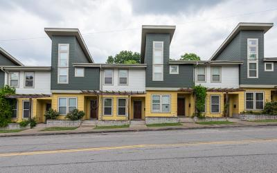 Nashville Condo/Townhouse For Sale: 723A McFerrin Ave