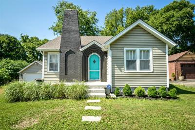 Nashville Single Family Home Active Under Contract: 1310 Newman Ave