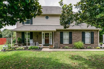 Thompsons Station Single Family Home Active Under Contract: 2621 Blair Park Cir