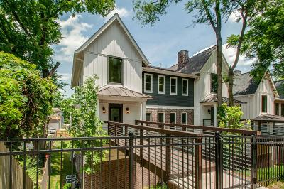 Nashville Single Family Home For Sale: 1415 Shelby Ave