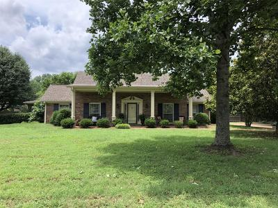 Franklin  Single Family Home For Sale: 1501 Blue Springs Rd