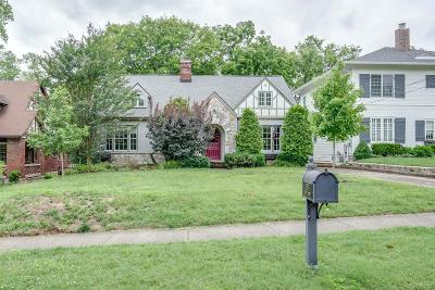 Nashville Single Family Home Active Under Contract: 209 Cantrell Ave