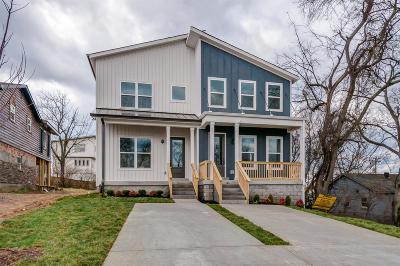 Nashville Single Family Home For Sale: 608 Vester Ave
