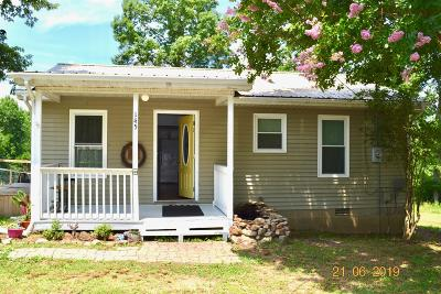 Hohenwald Single Family Home For Sale: 145 Rush Branch Rd