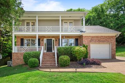 Nashville Single Family Home For Sale: 737 Woodland Way