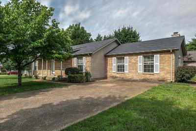 Spring Hill Single Family Home For Sale: 2280 Joann Dr