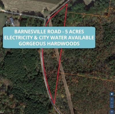 Summertown Residential Lots & Land For Sale: Barnesville Road