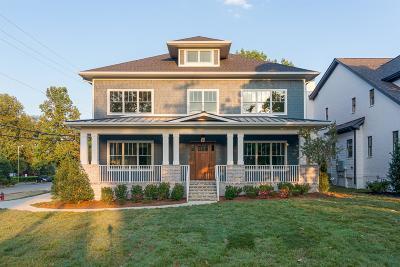 Nashville Single Family Home For Sale: 1515 Clifton Ln.