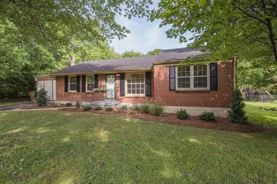 Nashville Single Family Home For Sale: 117 Glenmont Dr
