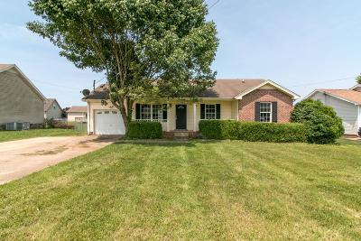 Clarksville Single Family Home Active Under Contract: 3454 Merganser Dr