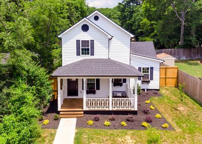 Nashville Single Family Home For Sale: 1726 25th Ave N