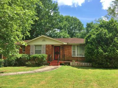 East Nashville Single Family Home For Sale: 1919 Rosebank Ave