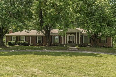 Robertson County Single Family Home Active Under Contract: 919 Meadowlark Dr
