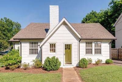 Nashville Single Family Home For Sale: 157 37th Ave N