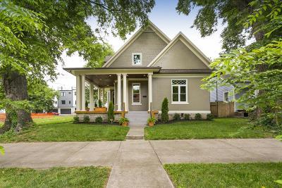 Nashville Single Family Home For Sale: 1009 Monroe St