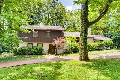Nashville Single Family Home For Sale: 3903 Abbott Martin Rd