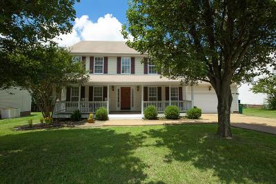 Spring Hill Single Family Home Active Under Contract: 2209 Hayward Ln