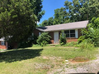 Clarksville Single Family Home For Sale: 635 Lafayette Rd