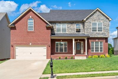 Clarksville Single Family Home Active Under Contract: 1131 Hilliard Ln