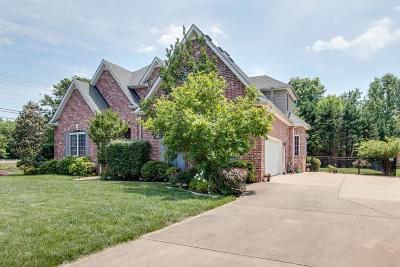 Murfreesboro Single Family Home For Sale: 1703 Satinwood Dr