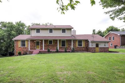 Gallatin, Gallitin, Hendersonville Single Family Home For Sale: 108 Earline Dr