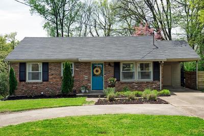 Nashville TN Single Family Home For Sale: $374,900