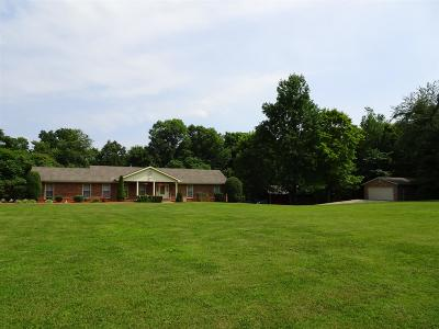 Christian County, Ky, Todd County, Ky, Montgomery County Single Family Home Active Under Contract: 3633 Oak Ridge Road