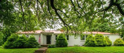 Nashville Single Family Home For Sale: 850 Summerly Dr