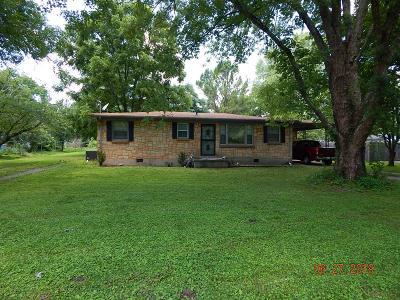 Goodlettsville Single Family Home For Sale: 307 Hitt Ln