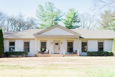 Brentwood Single Family Home Active Under Contract: 405 Oakvale Dr